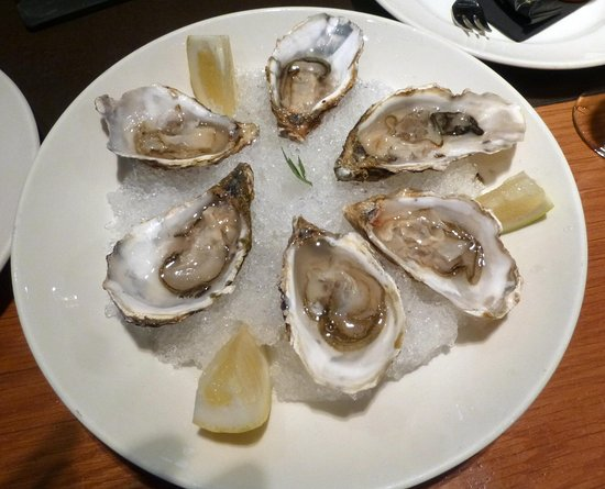 Orio BCN Gotic : fresh oysters