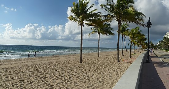 Fort Lauderdale Beach: Vista de la playa