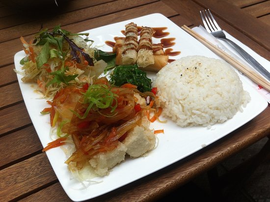 Whanganui, Nya Zeeland: The Crispy Tofu Plate