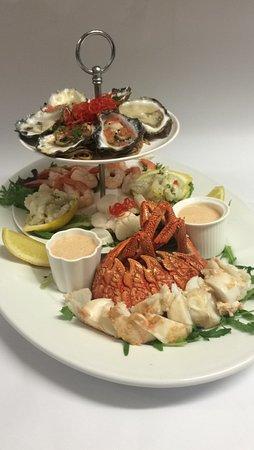 Eden, Australia: Local Seafood Platter