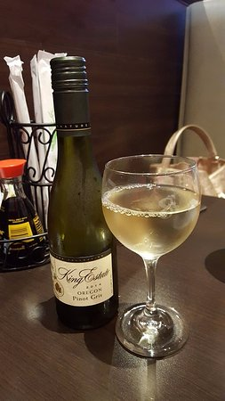 Katy, TX: Wine goes well with the food