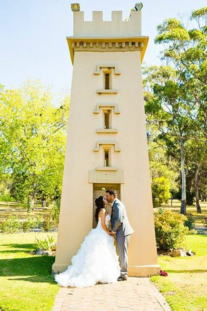 Eden, Australien: Beautiful Bride and Groom