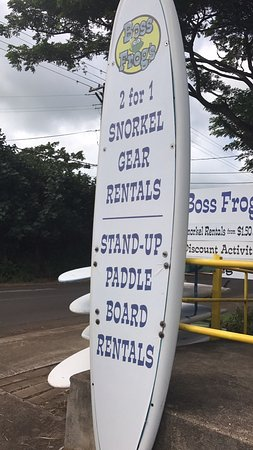 Koloa, Havaí: Boss Frogs Rentals for everything plus tours