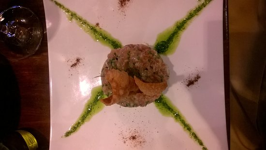 North Square: Tuna Carpaccio