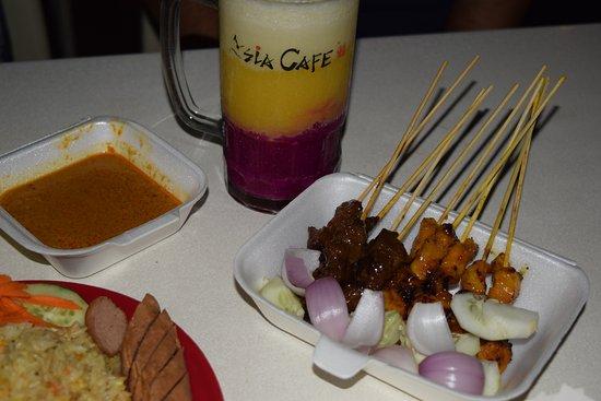 Subang Jaya, Malesia: Satay
