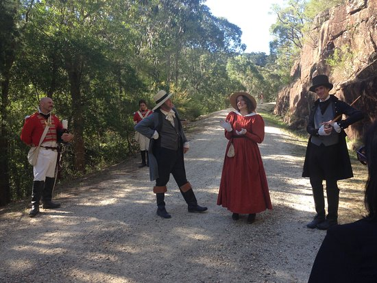 Wisemans Ferry, Australië: A lady popped by to tell us about how the road works were coming along