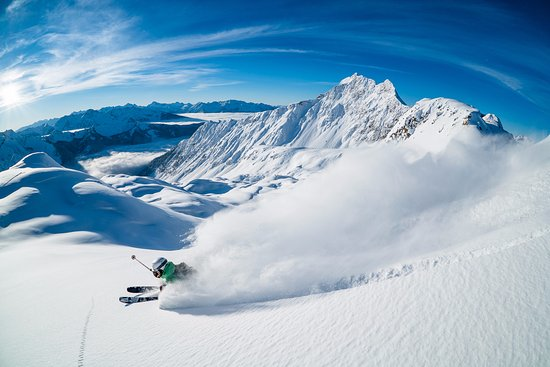 Les Rocheuses canadiennes, Canada : Deep Powder at Mica Heli