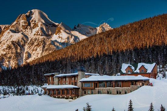 Canadian Rockies, كندا: Lodge at Mica Heli