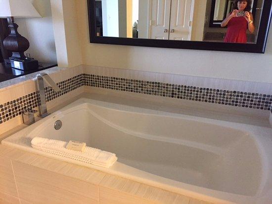 Hilton Grand Vacations at SeaWorld: big tub