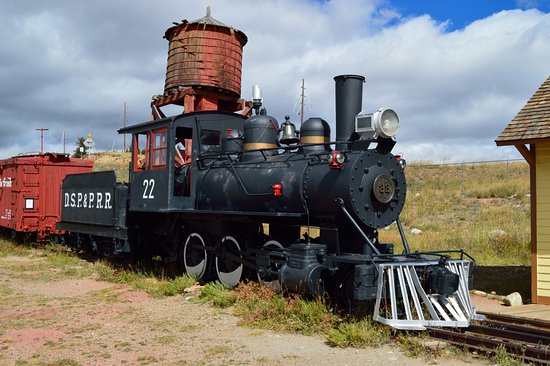 Fairplay, CO: Train