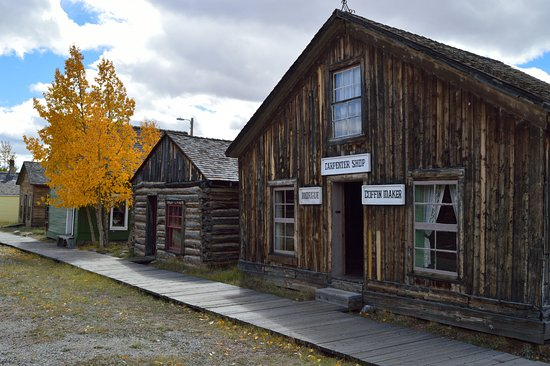 Fairplay, CO: Old Buildings