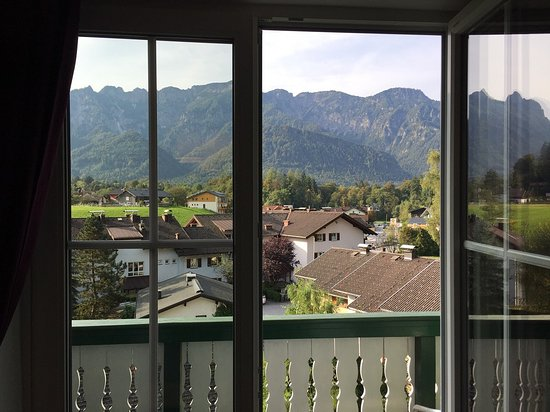Gastehaus Waldeck: Vista do quarto