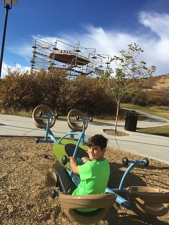Castle Rock, Kolorado: Playground area