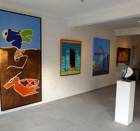 Grand Case, سانت مارتن: tropismes art gallery