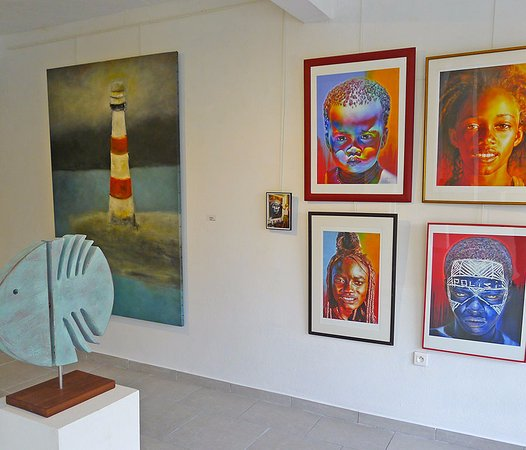 Grand Case, St. Maarten: tropismes art gallery