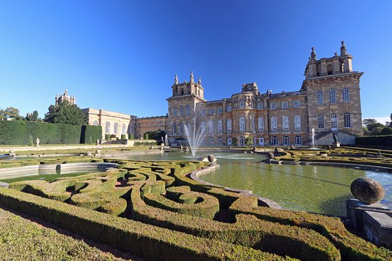 Woodstock, UK: Blenheim Palace and the garden