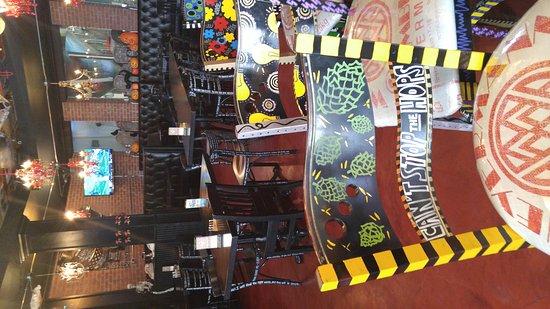Barrie, Kanada: Very Funky decor!!!!