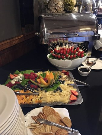 River Falls, WI: Caprese Skewers and Local artisan Cheese Tray