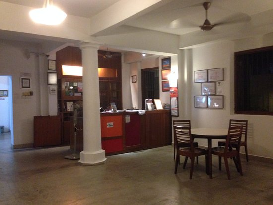 Hutton Lodge: Reception area