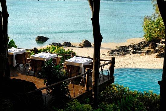 Pacific Resort Aitutaki: Rapae Bay Restaurant