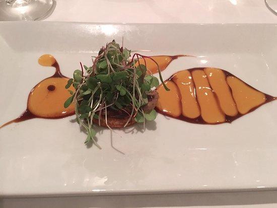Westglow Resort & Spa: Foie gras appetizer