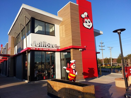 Skokie, IL: Front of & entrance to Jollibee