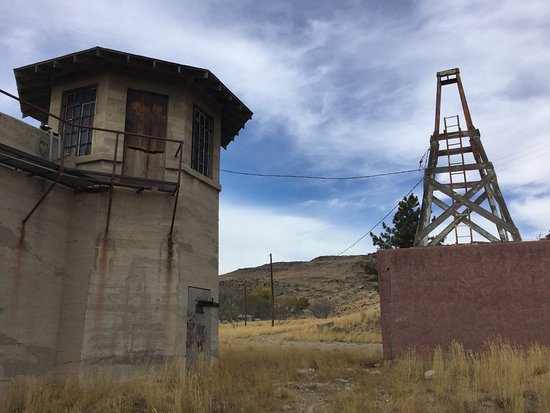 Wyoming Frontier Prison: Outside the prison