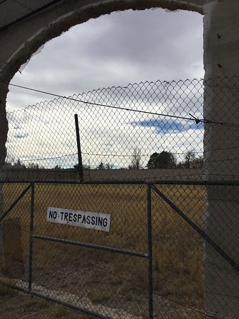 Rawlins, WY: Outside the prison