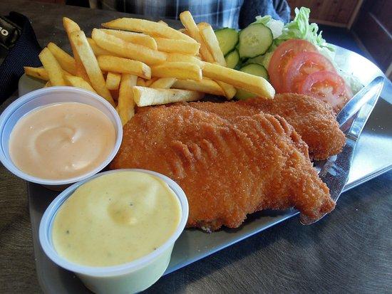 Hofn, Islandia: Fish and Chips