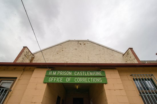 Castlemaine, Australia: Sign at Entrance