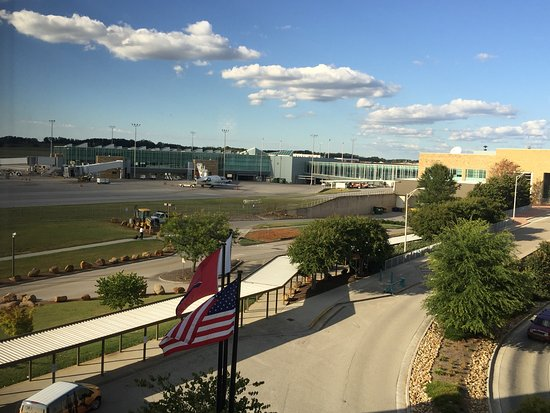 Hilton Knoxville Airport: view from the club