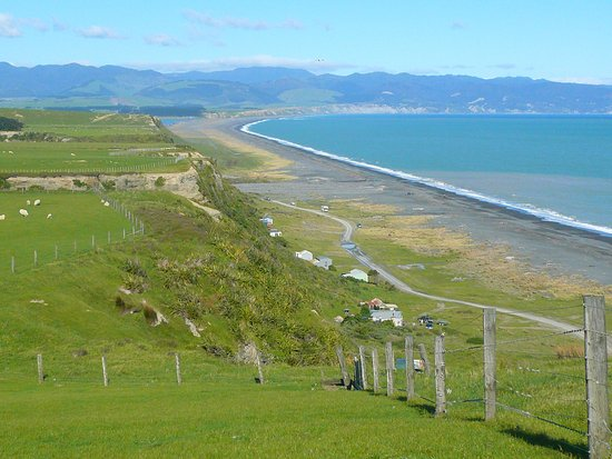 Featherston, Yeni Zelanda: View from the lookout