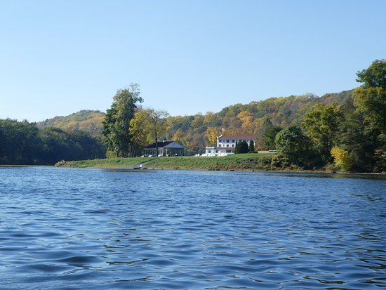 Shawnee on Delaware, Πενσυλβάνια: View from the pontoon cruise.