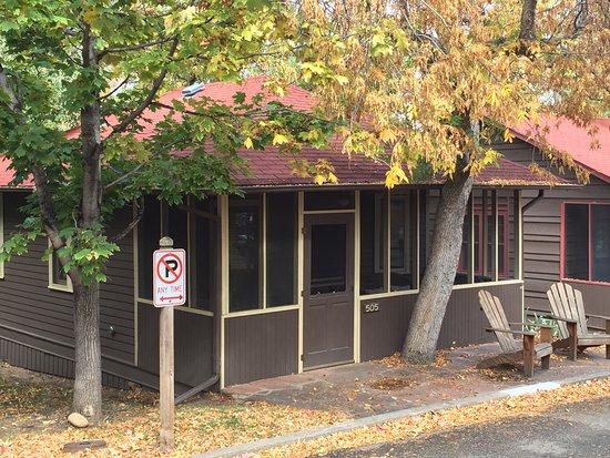 Colorado Chautauqua Lodging: My 1-bedroom cabin