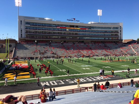 College Park, MD: Capital One Field - Oct 15, 2016 Minnesota vs Maryland Game