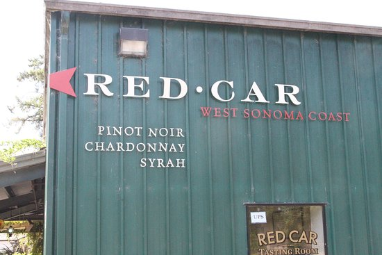Red Car Winery Tasting Room: The winery