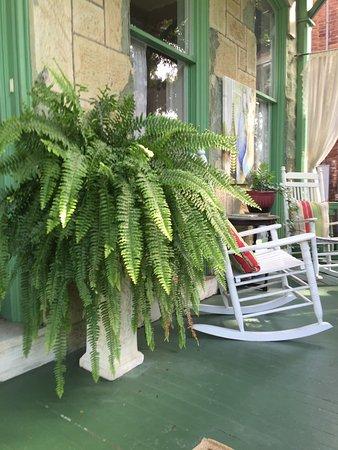 The Secret Garden: front porch