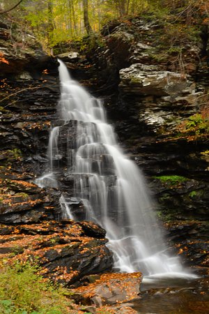 Benton, PA: Falls Trail Oct 2016