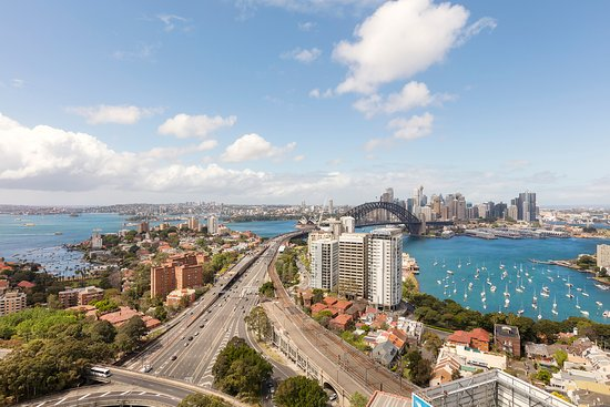 North Sydney, Australië: Hotel View