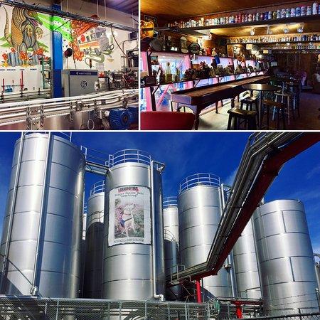 Petaluma, Californien: Lagunitas Brewing Co.