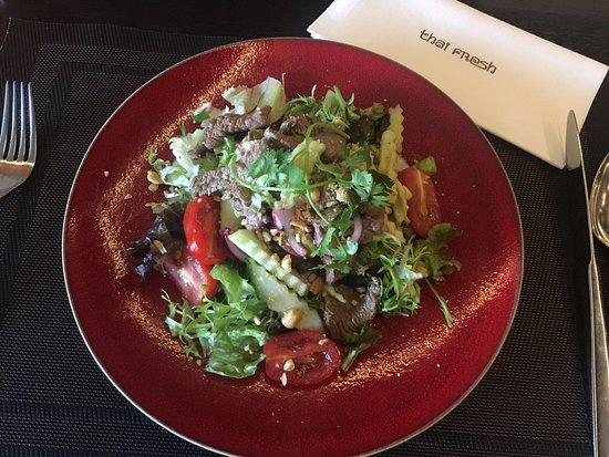 Voorburg, Nederland: Yam Nua Yang (Ossenhaas salade)
