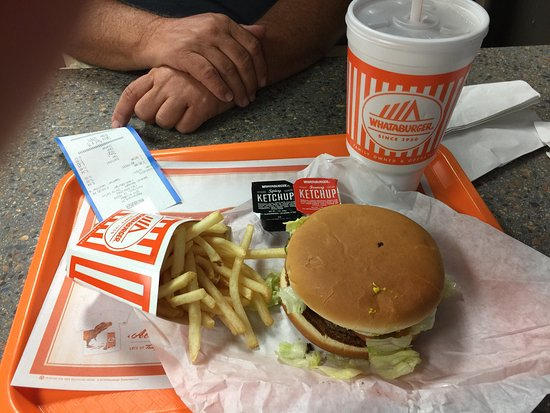 Portland, Teksas: This is the whataburger meal