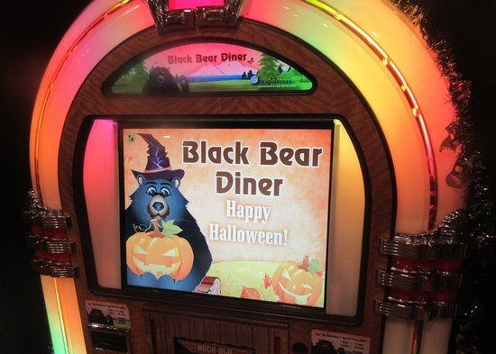 Happy Halloween - Black Bear Diner, Milpitas, CA