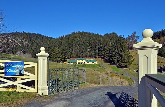 Mosgiel, Nova Zelândia: The view from the gate