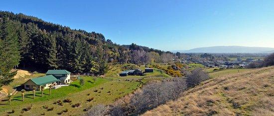 Mosgiel, Nueva Zelanda: A birds eye view