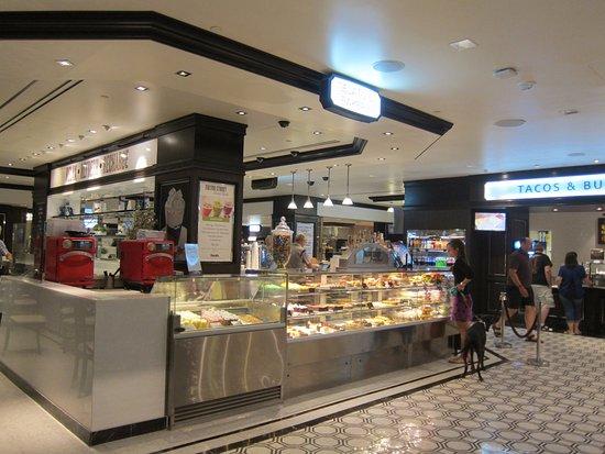 fulton street food hall bakery seating