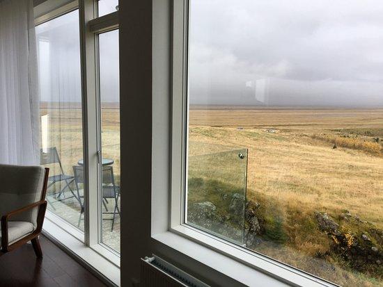 Hofn, Islandia: View from suite