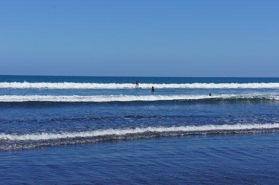 New Plymouth, Yeni Zelanda: Our beach.