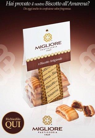 Afragola, Italien: Il nostro biscotto amarena...