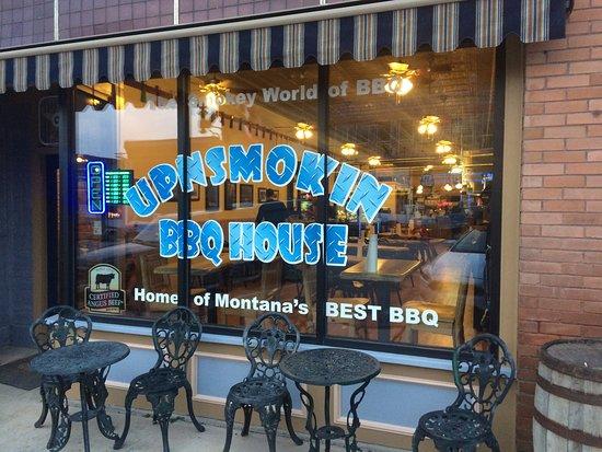 "Philipsburg, MT: ""Some Rib Sticking Bar-b-Que"""